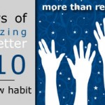 31 Days of Organizing for a Better 2010: Start a New Habit