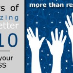 31 Days of Organizing for a Better 2010: Reduce Your Stress